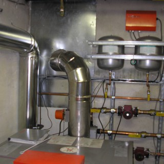 View of Commercial Pipes